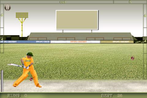 Screenshot Swing Cricket 2 Lite